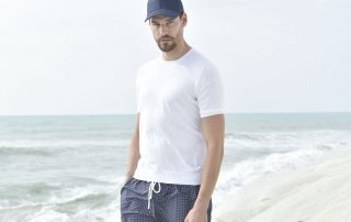 Take Advantage Of The Last Days Of Summer With Gran Sasso - Pace Men's Collection Toronto
