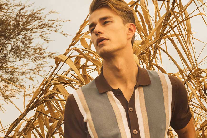 Warmer Weather Ahead With Gran Sasso - Pace Men's Collection Toronto