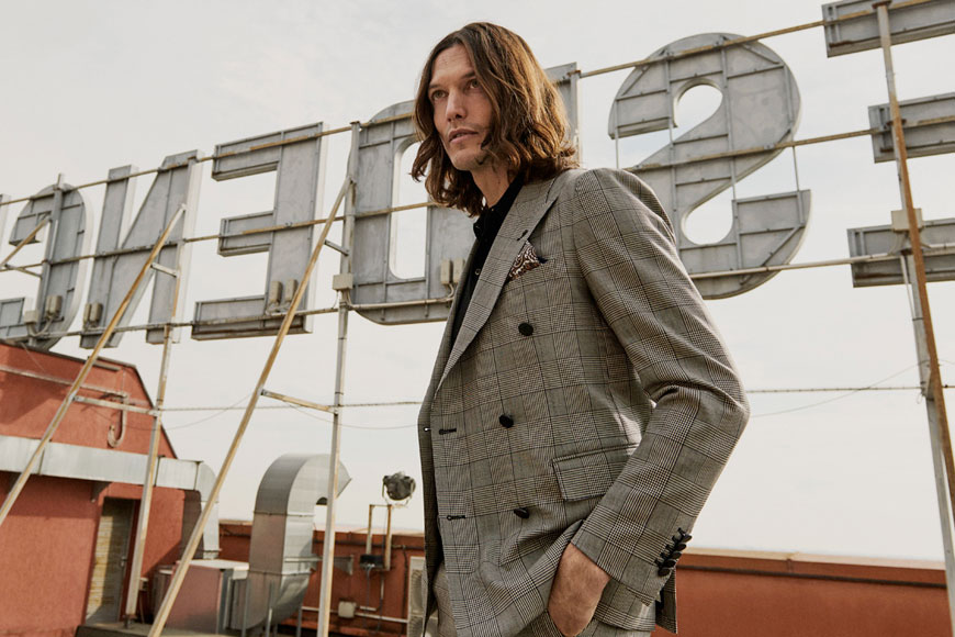 Looking Sharp With Tagliatore - Pace Men's Collection Toronto