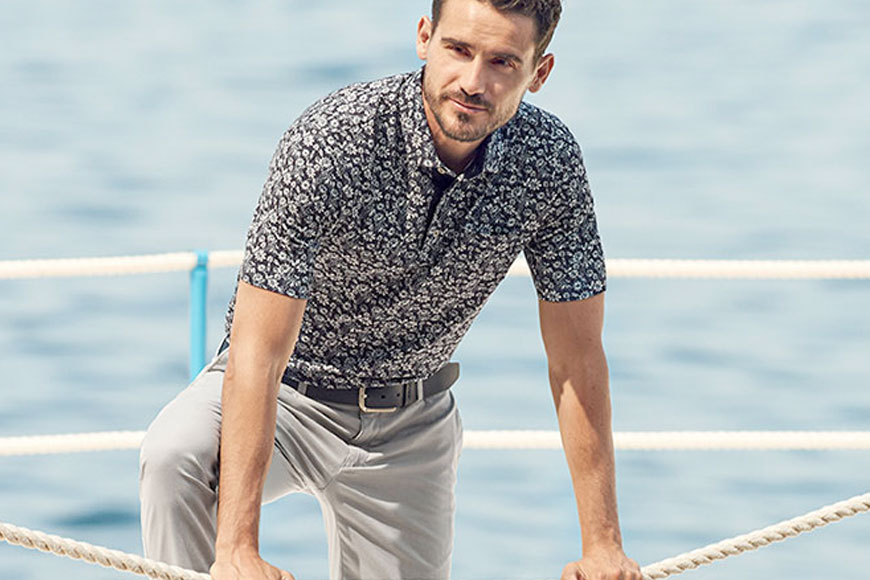 Thinking About Warmer Weather with Brax Spring 2020 - Pace Men's Collection
