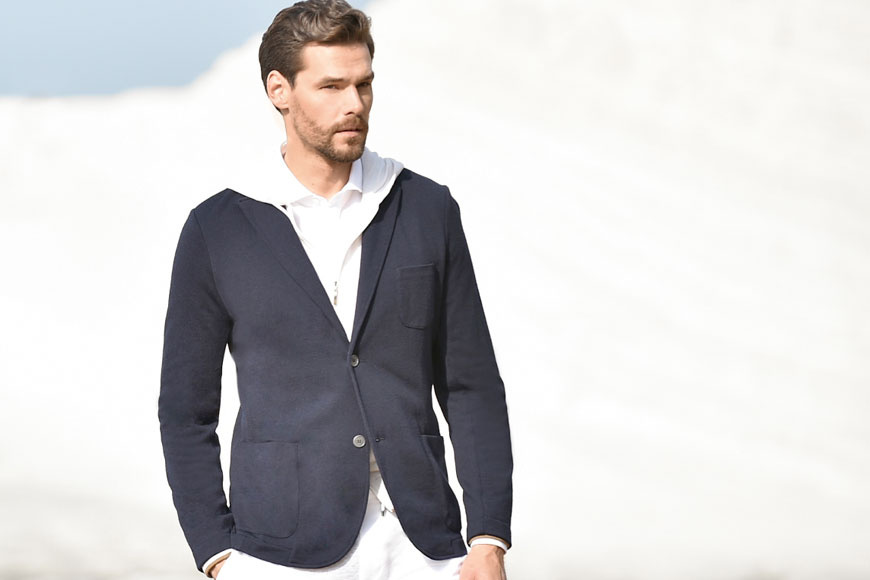 Casual Elegance From Gran Sasso Spring 2020 - Pace Men's Collection