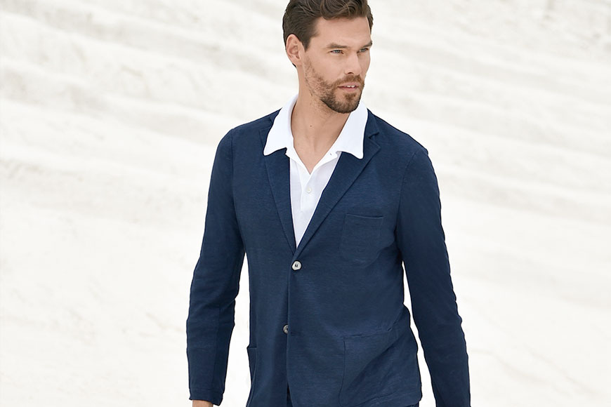 Looking Great This Summer With Gran Sasso - Pace Men's Collection Toronto